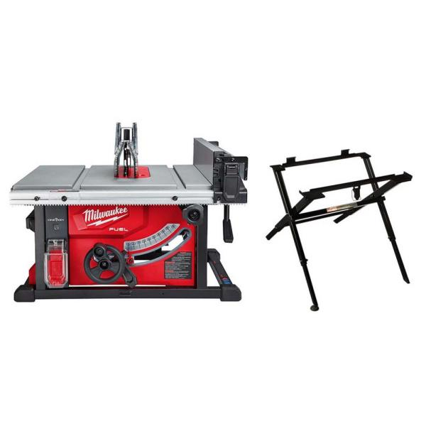 M18 FUEL ONE-KEY 18-Volt Lithium-Ion Brushless Cordless 8-1/4 in. Table Saw W/ Table Saw Stand (Tool Only)