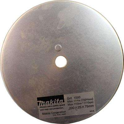 1,000-Grit Grinding Wheel For Use With Makita Blade Sharpener Model 98202