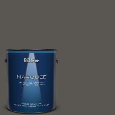 Behr Marquee 1 Gal Home Decorators Collection Hdc Cl 24g Equestrian Leather Satin Enamel Interior Paint Primer 745301 The Home Depot