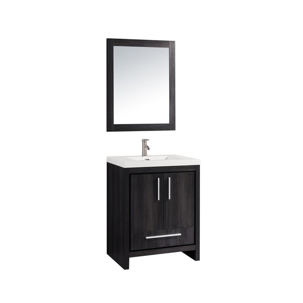 Home Decorators Collection Whitley 30 5 In W X In D Vanity In Cream With Solid Surface