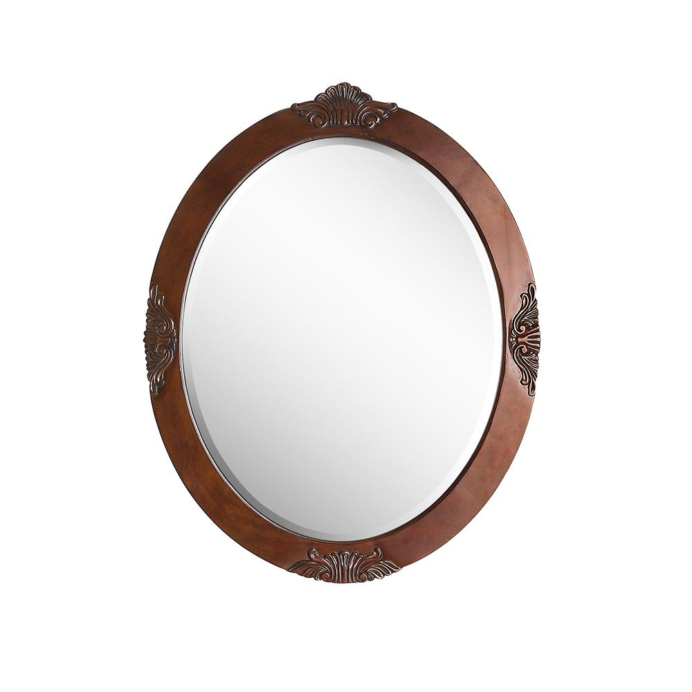 antique oval mirror frame. Home Decorators Collection Winslow 30 In. X 37.75 Single Framed Wall Mount Mirror Antique Oval Frame R