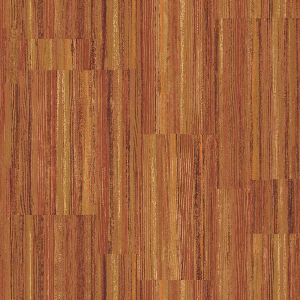 The Wallpaper Company 8 in. x 10 in. Jewel Tone Patchwork Stripe Wallpaper Sample