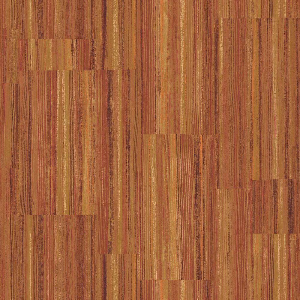 The Wallpaper Company 8 in. x 10 in. Jewel Tone Patchwork Stripe Wallpaper Sample