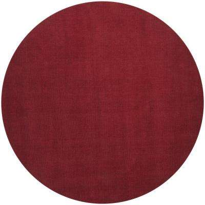 Falmouth Cherry 10 ft. x 10 ft. Round Indoor Area Rug