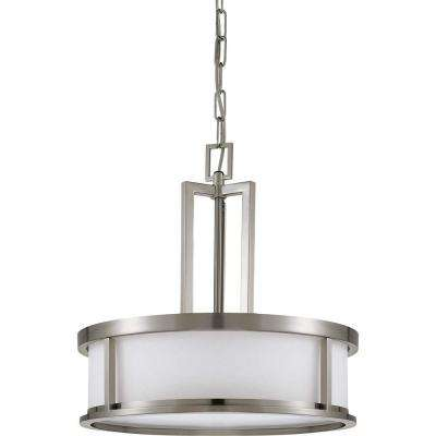 Andria Glamor 4-Light Brushed Nickel Pendant