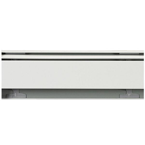 Fine/Line 30 2 ft. Hydronic Baseboard Heating Enclosure Only in Nu-White