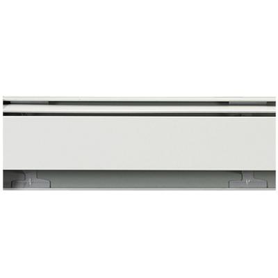 Fine/Line 30 6 ft. Hydronic Baseboard Heating Enclosure Only in Nu-White