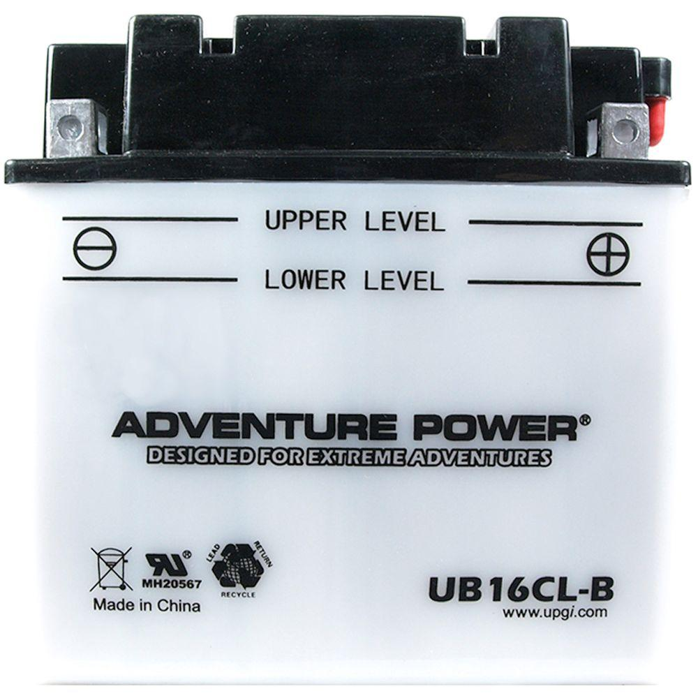Conventional Wet Pack 12-Volt 19 Ah Capacity D Terminal Battery