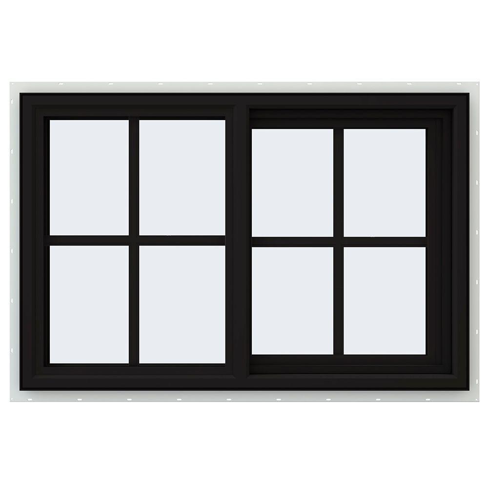 35.5 in. x 23.5 in. V-4500 Series Right-Hand Sliding Vinyl Window