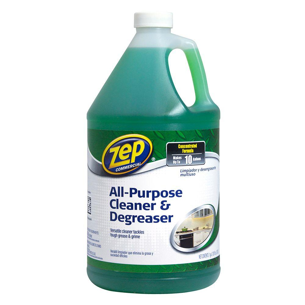 zep 128 oz concentrated all purpose cleaner and degreasers case of rh homedepot com