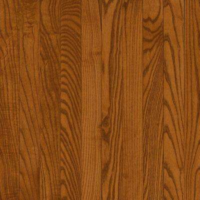 Take Home Sample - Natural Reflections Gunstock Oak Solid Hardwood Flooring - 5 in. x 7 in.