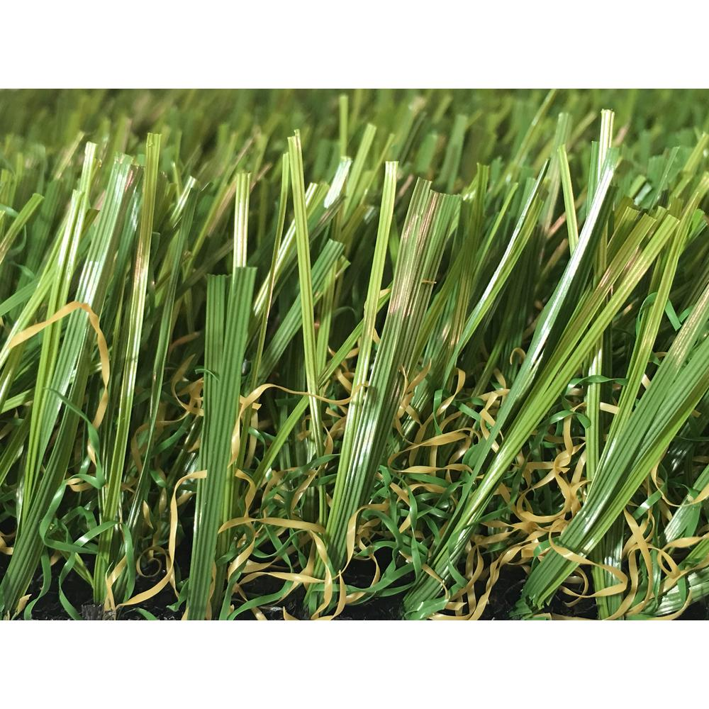 GREENLINE GREENLINE 3D W Premium 65 Fescue Artificial Grass Synthetic Lawn  Turf For Outdoor Landscape 15 Ft. X Custom Length GL3DW65F15CTL   The Home  Depot