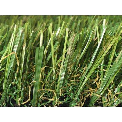 GREENLINE 3D-W Premium 65 Fescue Artificial Grass Synthetic Lawn Turf for Outdoor Landscape 15 ft. x Custom Length