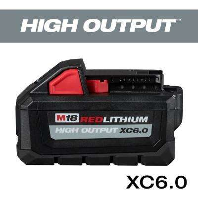 M18 18-Volt Lithium-Ion High Output Battery Pack 6.0Ah