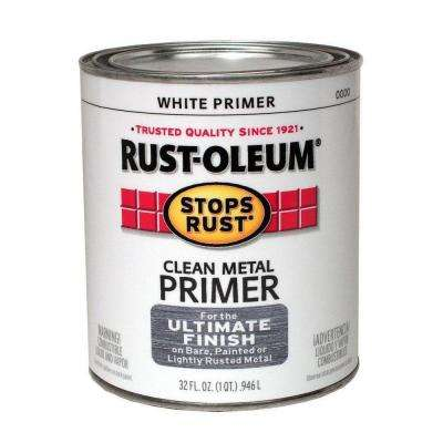 1-qt. White Flat Clean Metal Primer (Case of 2)