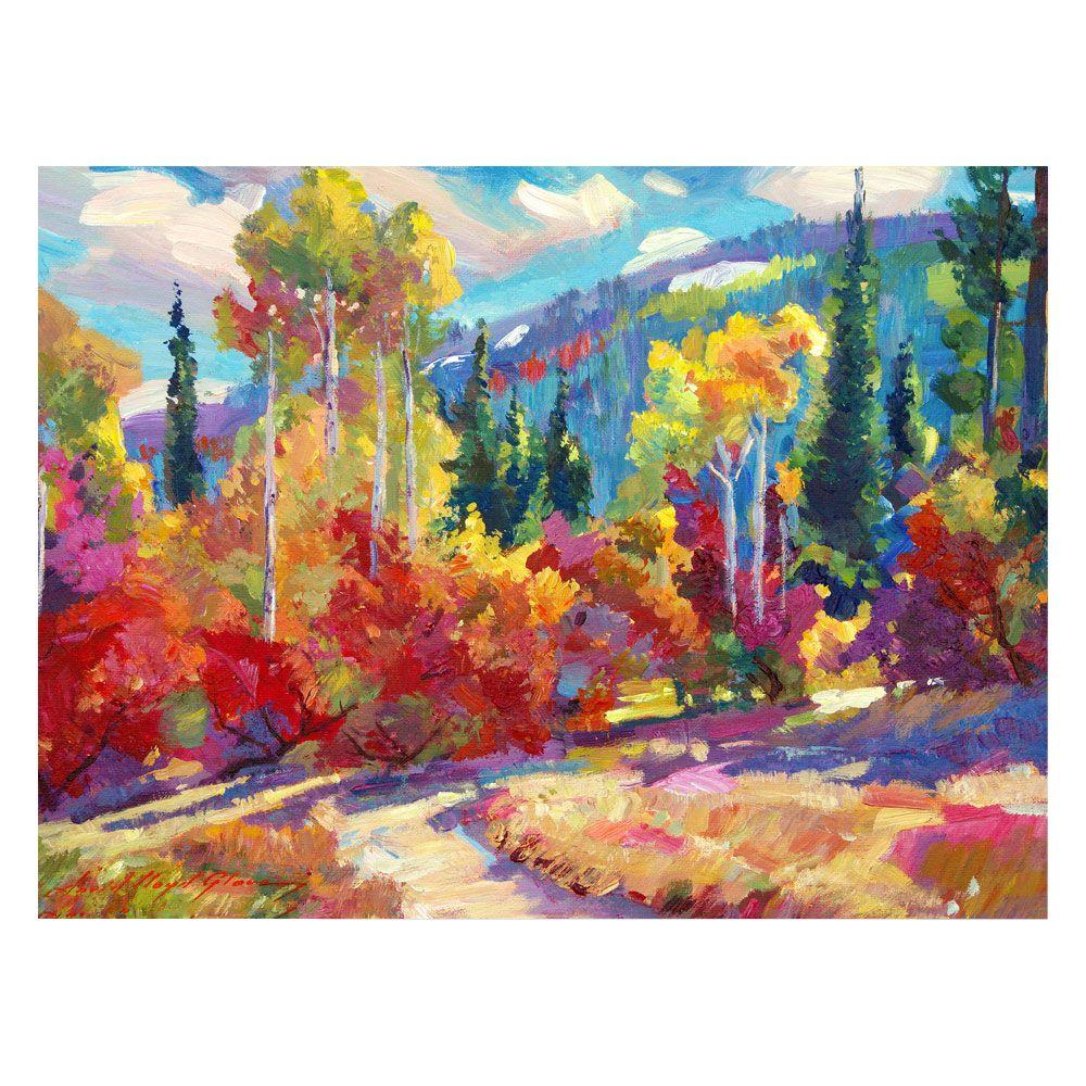 24 in. x 32 in. The Colors of New Hampshire Canvas