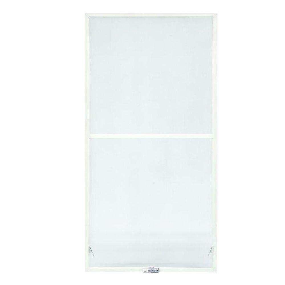 TruScene 35-7/8 in. x 46-27/32 in. White Double-Hung Insect Screen