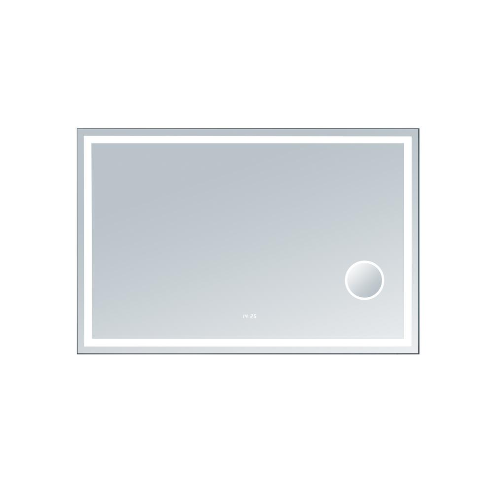 innoci-usa Eros 56 in. x 36 in. LED Mirror, Mirrored
