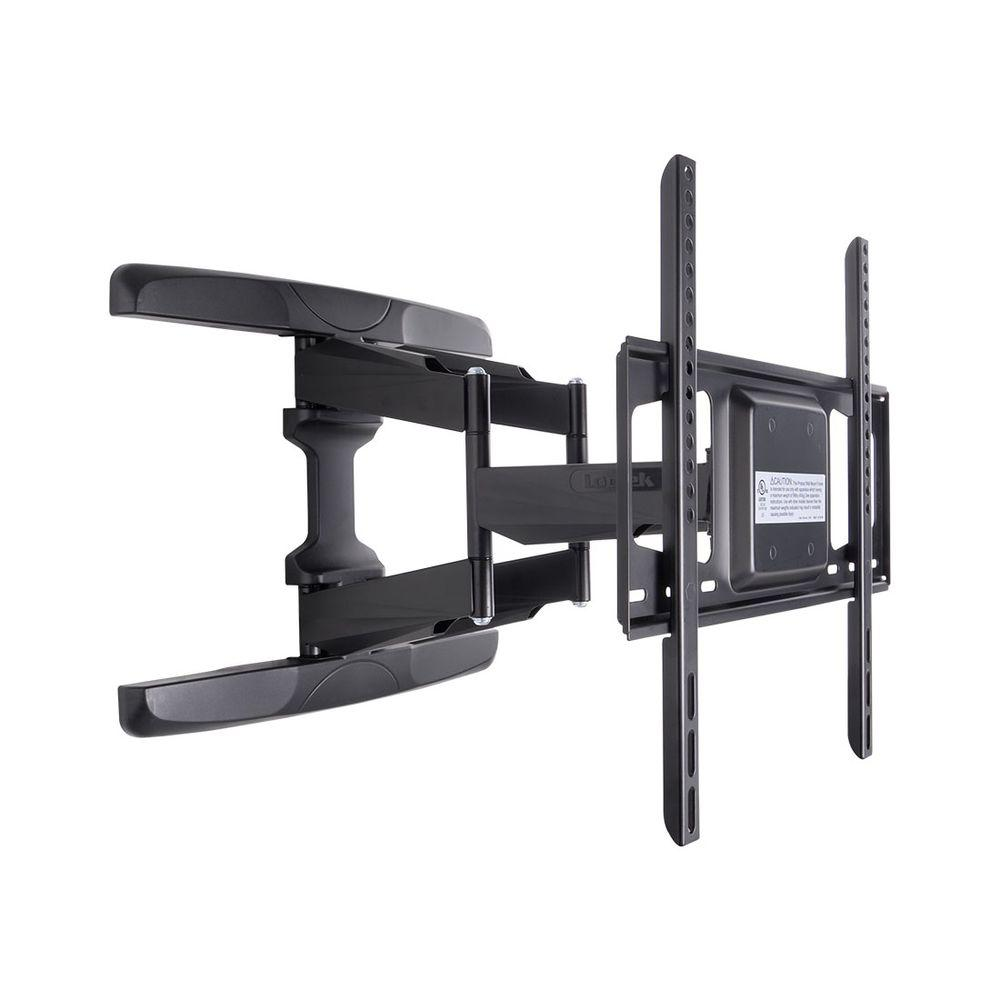 loctek full motion tv wall mount articulating tv bracket fits for 37 in 60 in tvs up to 99. Black Bedroom Furniture Sets. Home Design Ideas