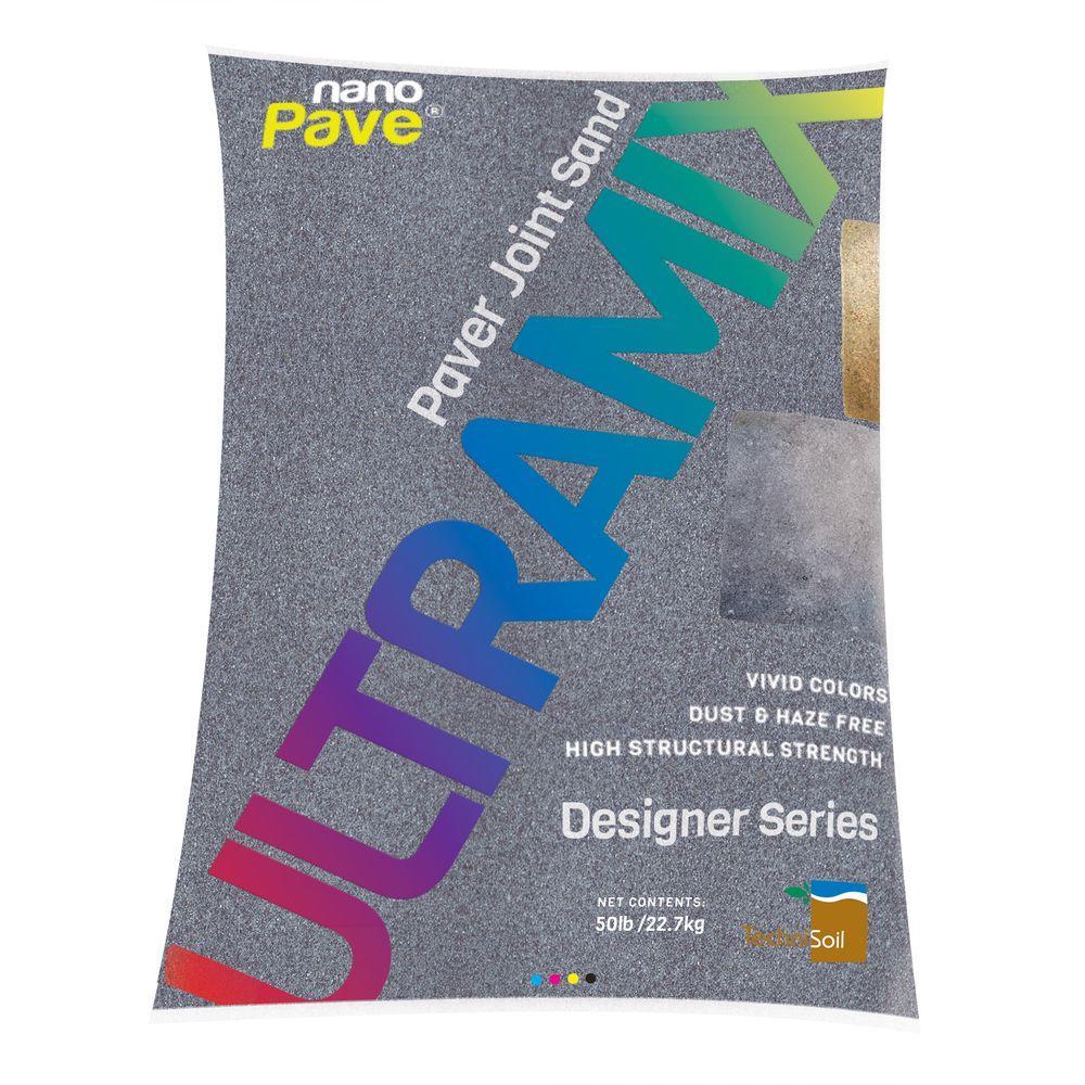 UltraMix Designer Series 50 lb. Charcoal Plum Blend Paver Joint Sand Bag