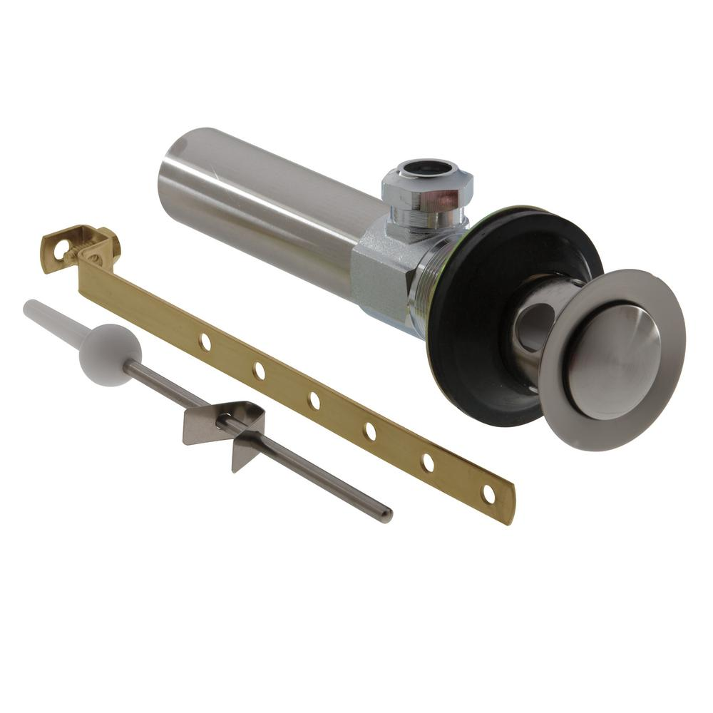 Lavatory Drain Assembly Less Lift Rod in Stainless