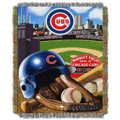 Cubs Multi Color Home Field Advantage Tapestry Throw