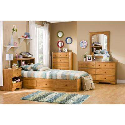 Little Treasures Twin Kids Storage Bed