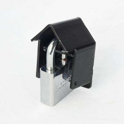 Universal Lock Guard with 1 in. steel lock