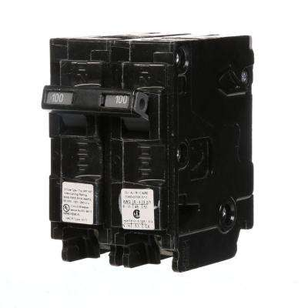100 Amp Double-Pole Type MP-MT 65K Circuit Breaker