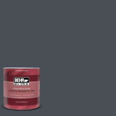 1 qt. #PPU25-22 Chimney Matte Interior Paint and Primer in One