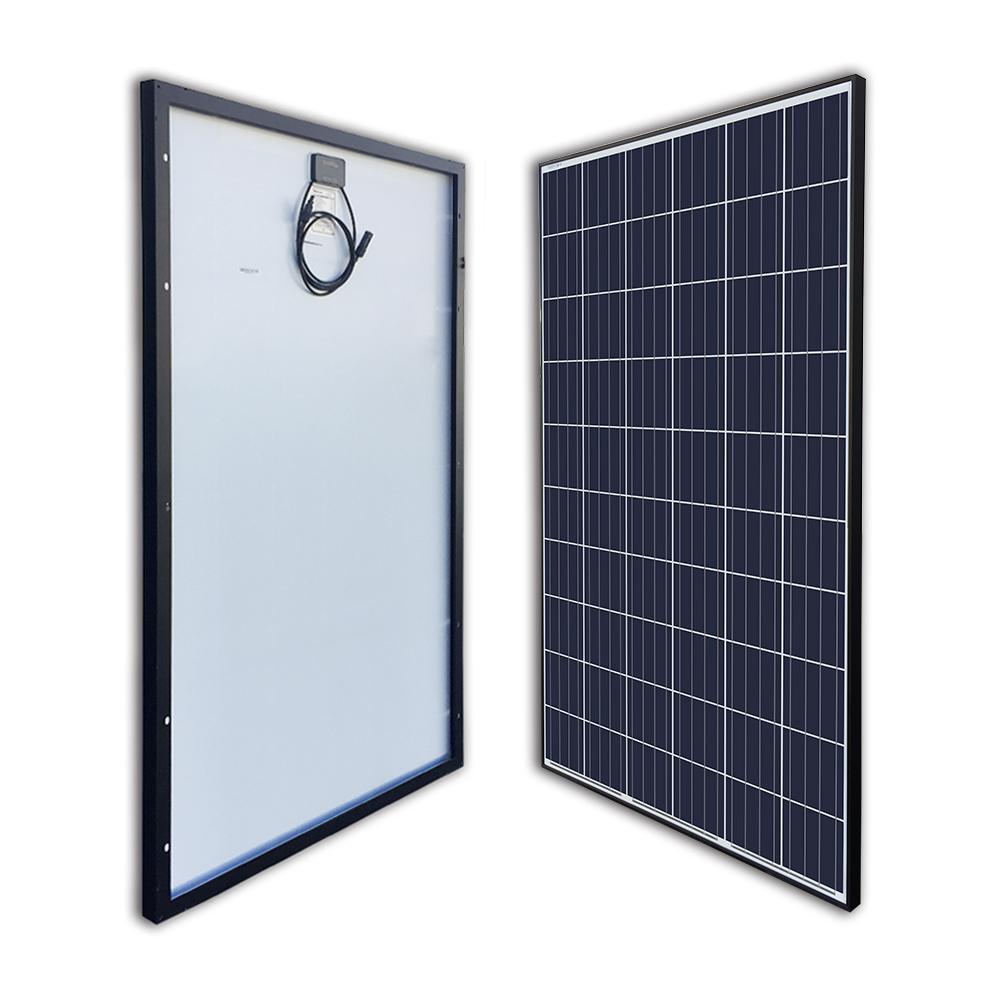 270-Watt 24-Volt Polycrystalline Solar Panel for RV Boat Back-Up System Off-Grid Application