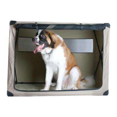 36 in. x 24 in. x 30 in. Large Dog Digs Patented Travel Crate