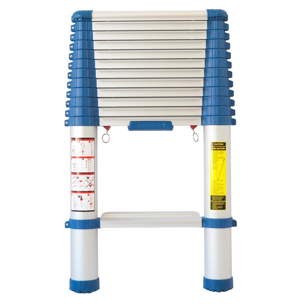 Easyaccess Innovations 12 5 Ft Aluminum Telescopic Ladder