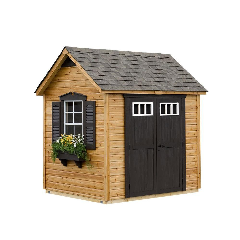 Suncast Legacy 6 ft. x 8 ft. Garden Shed-DISCONTINUED