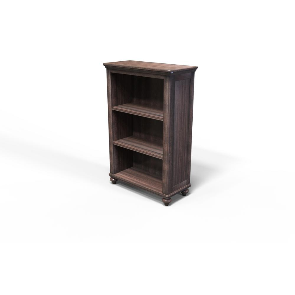 Tacoma Hill Espresso 3 Shelf Bookcase