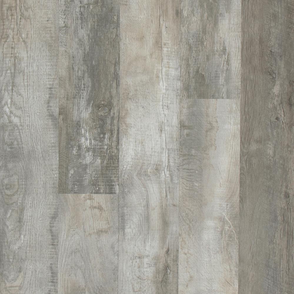 Lifeproof Buckhorn Gray Oak 7 5 In X