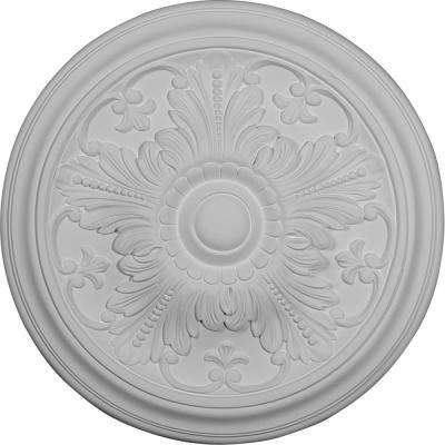 16-7/8 in. OD x 5/8 in. P (Fits Canopies up to 3-1/4 in.) Vienna Ceiling Medallion