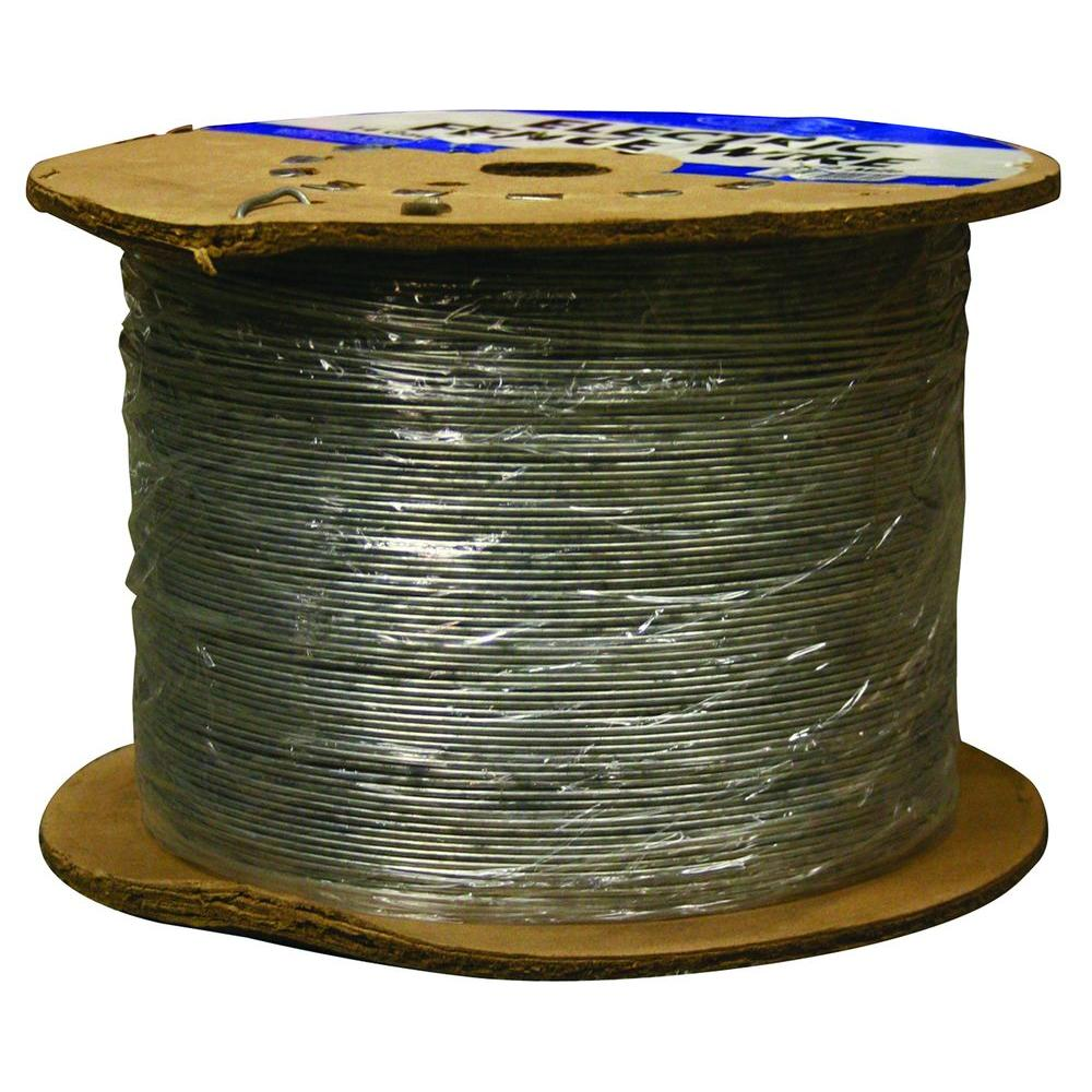Farmgard 12 mile 17 gauge electric fence wire 317752a the home depot farmgard 12 mile 17 gauge electric fence wire publicscrutiny Choice Image