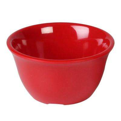 Coleur 7 oz., 4 in. Bouillon Cup in Pure Red (12-Piece)
