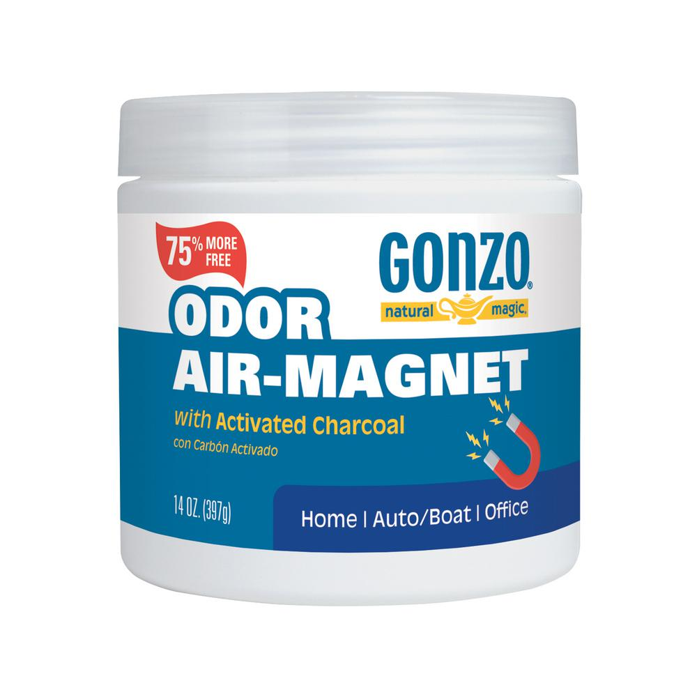 GonzoNaturalMagic Gonzo Natural Magic Air Magnet 14 oz. Odor Absorber, Semi-Clear
