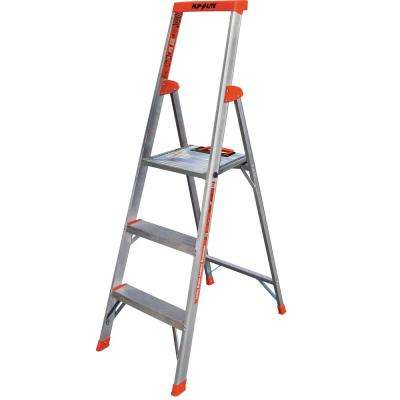 5 ft. Flip-N-Lite Aluminum Utility Ladder with 300 lb. Load Capacity Type IA Duty Rating