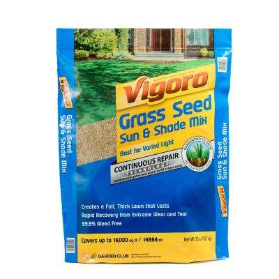 20 lb. Sun and Shade Grass Seed Mix