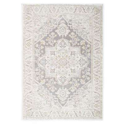 Traditional Medallion Distressed Ultra Soft Area Rug