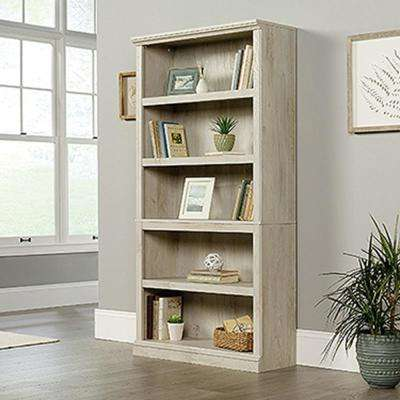 Chalked Chestnut 5 Shelf Bookcase