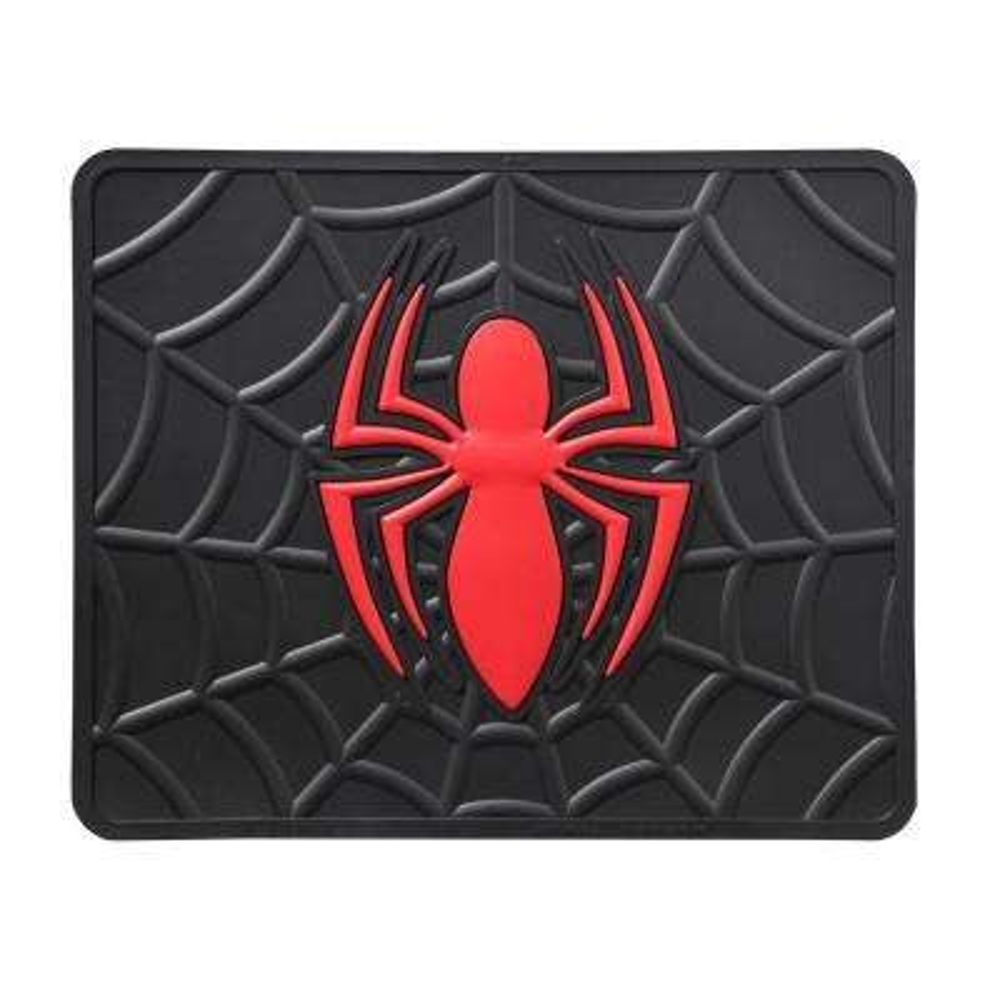 Marvel Spiderman Heavy Duty 17 in. x 14 in. Vinyl Utility Car Mat