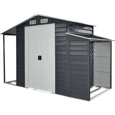 3-in-1 Multi-Use Galvanized Steel Shed