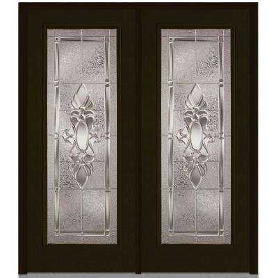 72 In. X 80 In. Heirloom Master Left Hand Full Lite Classic Stained
