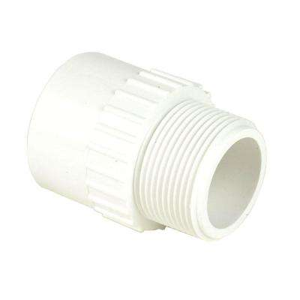 8 in. Schedule 40 PVC Male Adapter MPTxS