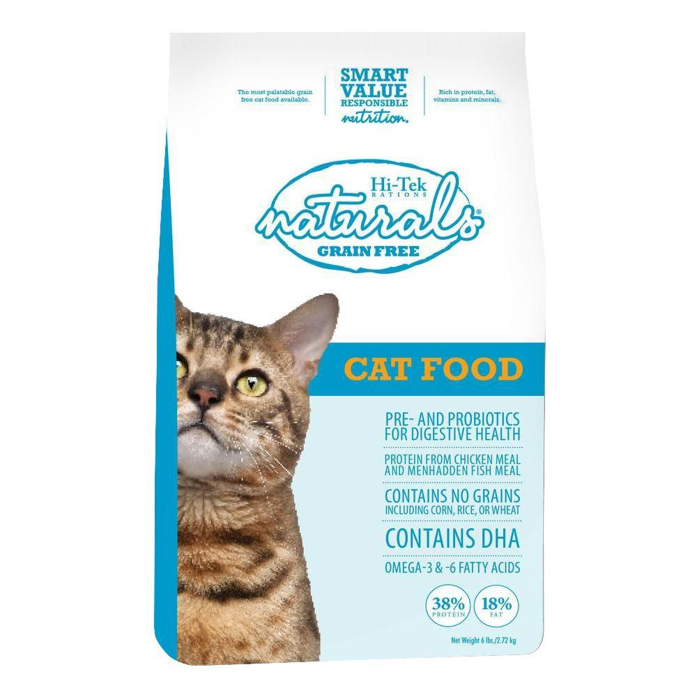 Hi-Tek Rations Naturals Grain Free Dry Cat Food (6 lb. Bag)-DISCONTINUED
