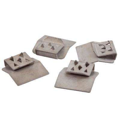 3/4 in. x 3 in. x 4-1/2 in. Vinyl Fence Post Cap Clip